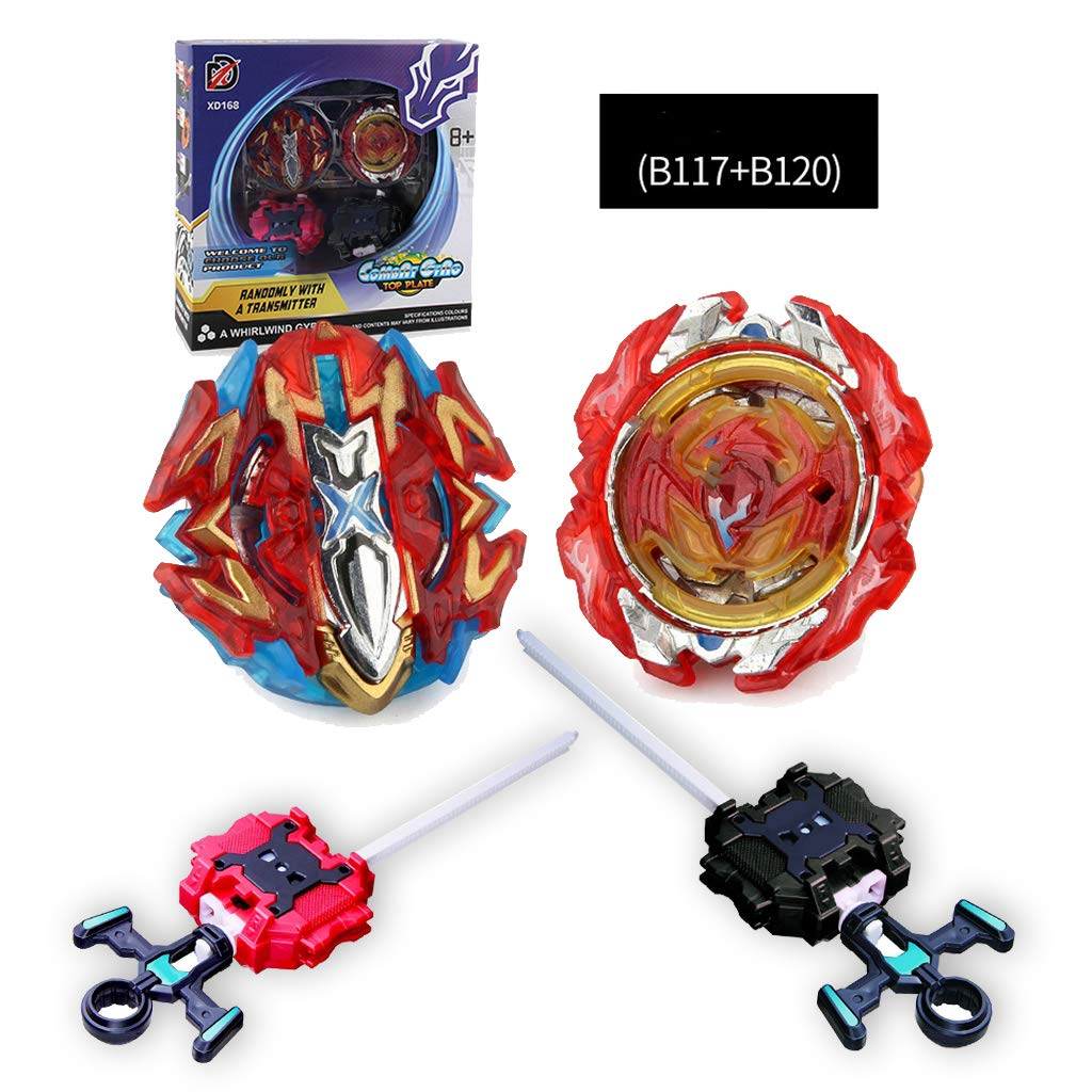 Dojoy Bey Battle Burst God Evolution Battling Top Set with Launcher Stater Grip and Stadium Battle Set(B117,B120) (style2) by Dojoy (Image #1)