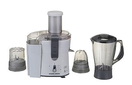 742ccf82389 Amazon.com  Black   Decker JBGM600-220V Four-in-One Juicer