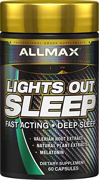 Amazon.com: ALLMAX Nutrition, Lights Out Sleep, 60 Capsules: Health ...