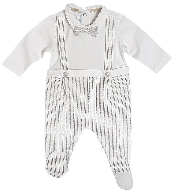Chicco Pelele - para bebé niño Crema-Amarillento 44: Amazon.es: Ropa y accesorios