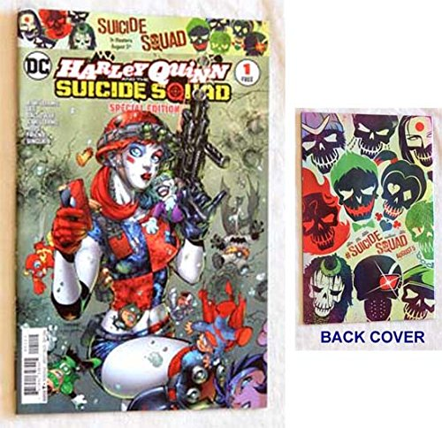 Harley Quinn And The Suicide Squad 2016 Special Edition #1 DC Comic Book - DC Comics - Uncirculated Comic Book Graded 9.8 By The Seller