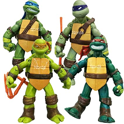 Norda Turtles Superheroes Action Figures TMNT Toys