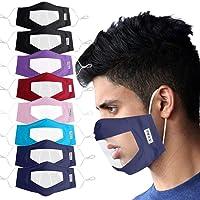 YpingLonk 10PC Protector Adulto Claro Ventana Visible expresión para los sordos y difíciles de oír para los Hombres…