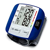 Automatic Blood Pressure Monitor, Wrist | Smart Measure Technology | Battery Powered...