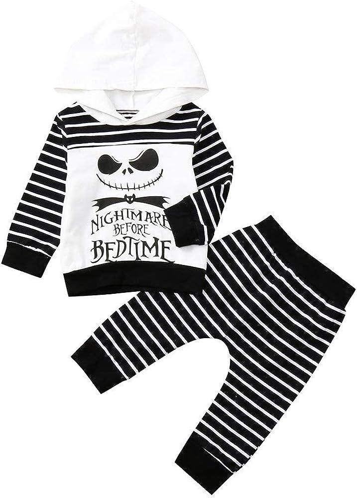 Disfraz Halloween Niño Bebe 1-4 años Ghost Smile Sudaderas con ...