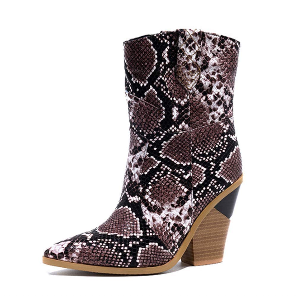 animal print womens boots