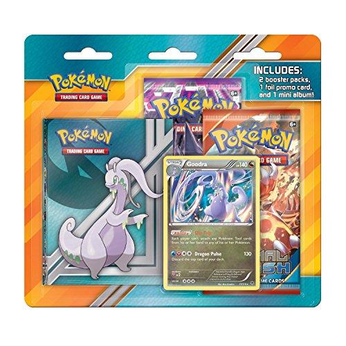 Pokémon Trading Card Game: Goodra Mini Album Blister Pack (Binder Card Xy Pokemon)