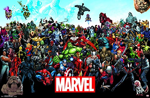 Trends International Marvel-the Lineup 15 Premium Wall Poste