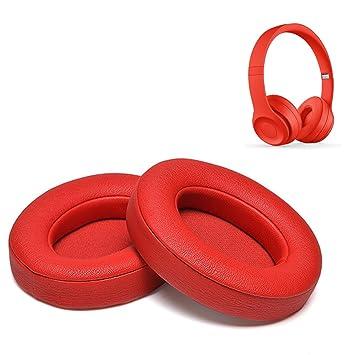 Cojines Beats Solo 2.0/3.0 Almohadillas de Repuesto para Auriculares de Espuma con Efecto Memoria Almohadillas para los oídos: Amazon.es: Electrónica