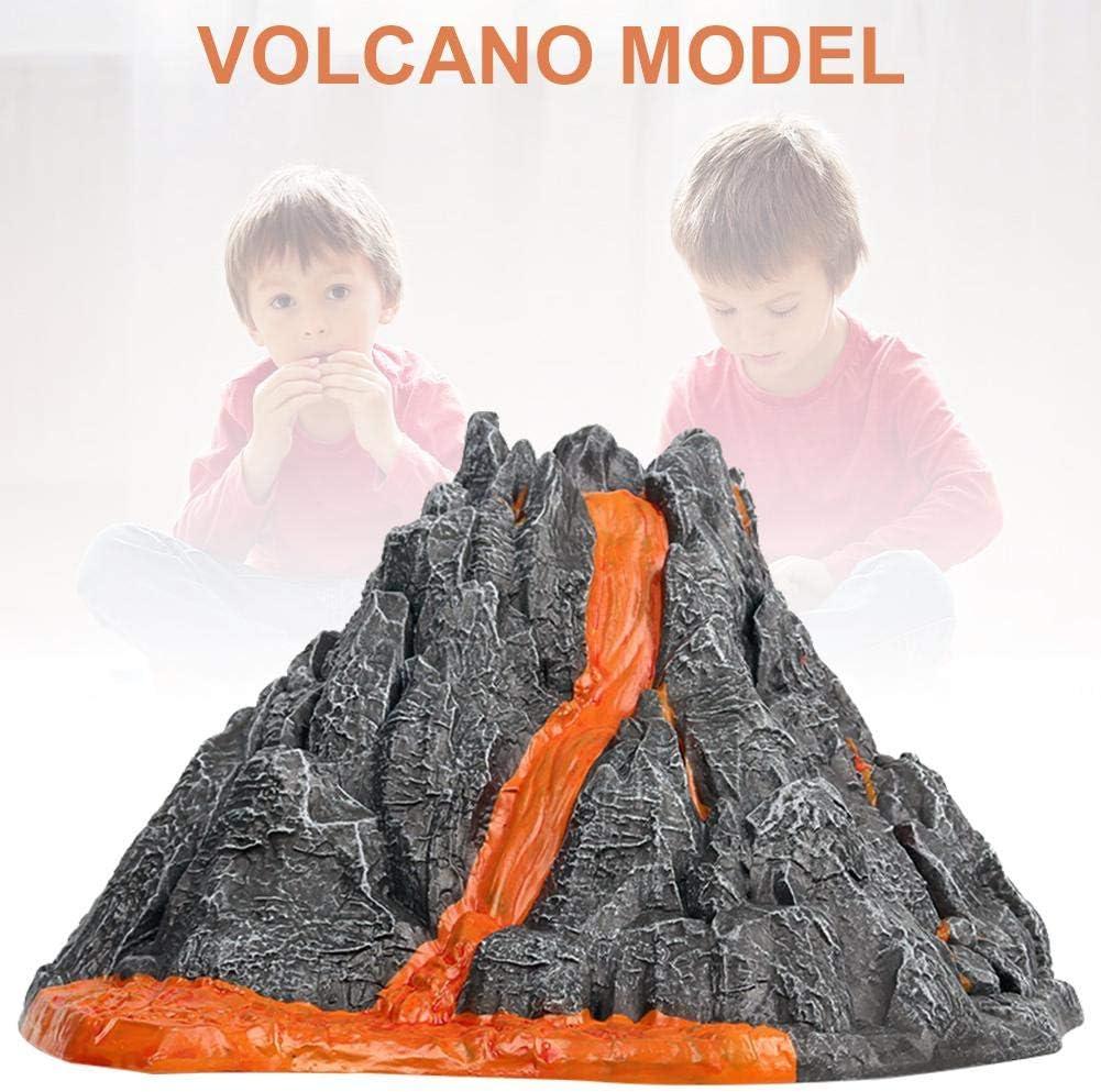 awhao-123 Modelo de erupción volcánica para niños, juguete de simulación de volcán de 9 pulgadas para niños, juguete divertido de aprendizaje de ciencias new release: Amazon.es: Bricolaje y herramientas
