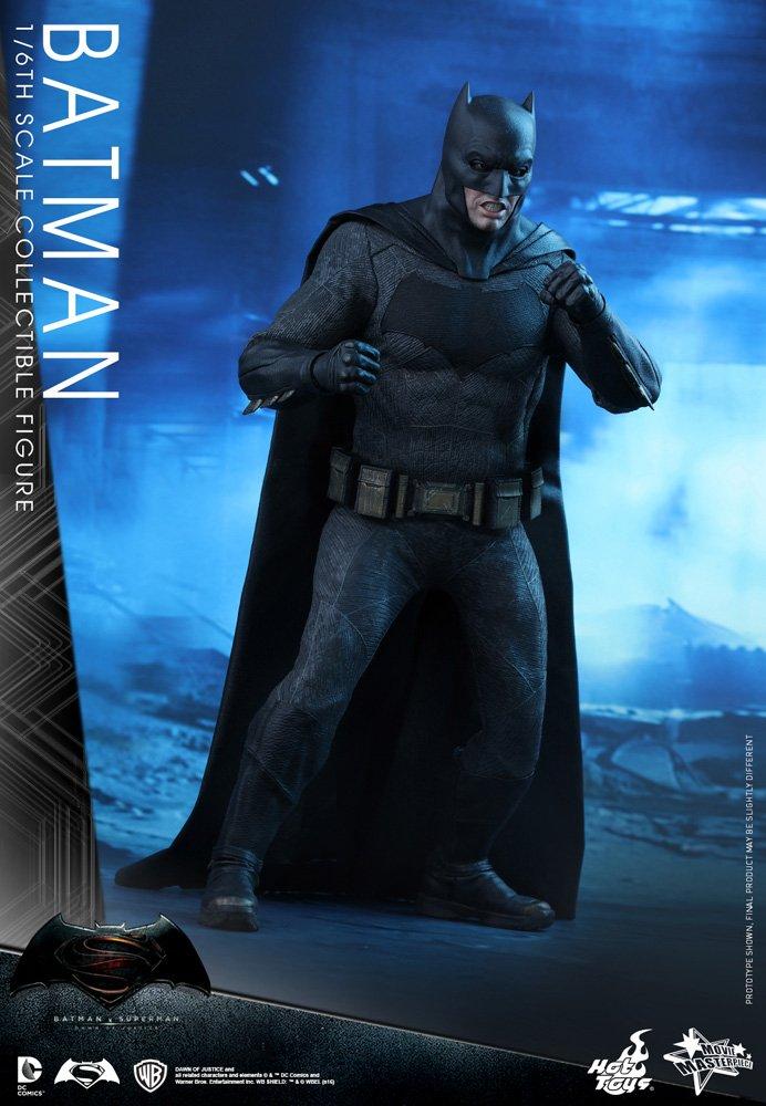 Hot Toys HT902618 DC DC DC Comics Batman v Superman Collectible Figure, Black & Grey 7243fd