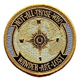 #8: O'Houlihans - Not All Those Who Wander Are Lost - Lord of the Rings Patch