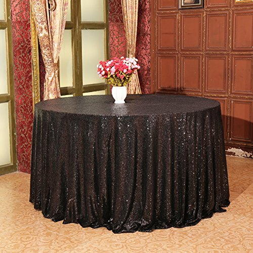 Eternal Beauty Sequin Tablecloth, Sequin Table Linen (70