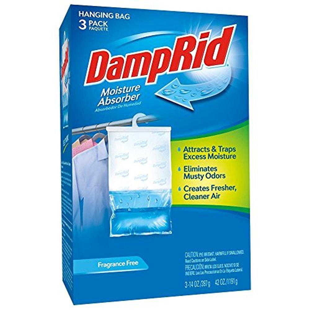 DampRid 42 oz. Fragrance Free Hanging Bag (3-Pack)