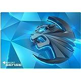 Roccat ROC-13-120 Sense Kinetic High Precision Gaming Mousepad (Mikrokristallbeschichtung, Größe: 400 x 280 x 2 mm) blau/schwarz