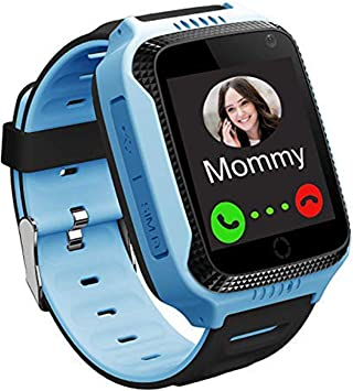 GPS LBS Tracker Smartwatch Niños - Reloj Inteligente Niña con SOS ...