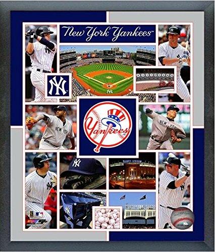 New York Yankees 2015 MLB Team Composite Photo (Size: 17