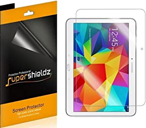 (3 Pack) Supershieldz Anti Glare and Anti Fingerprint (Matte) Screen Protector for Samsung Galaxy Tab 4 10.1 inch
