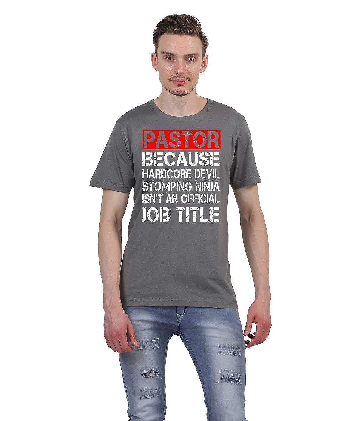 Ruffty-Pastor T Shirt. Christian T-Shirt Gifts- Mens Cotton ...