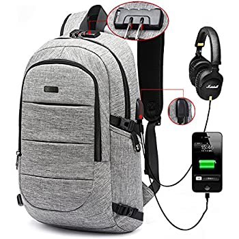 Amazon.com: Business Laptop Backpack, Anti Theft Waterproof Travel ...