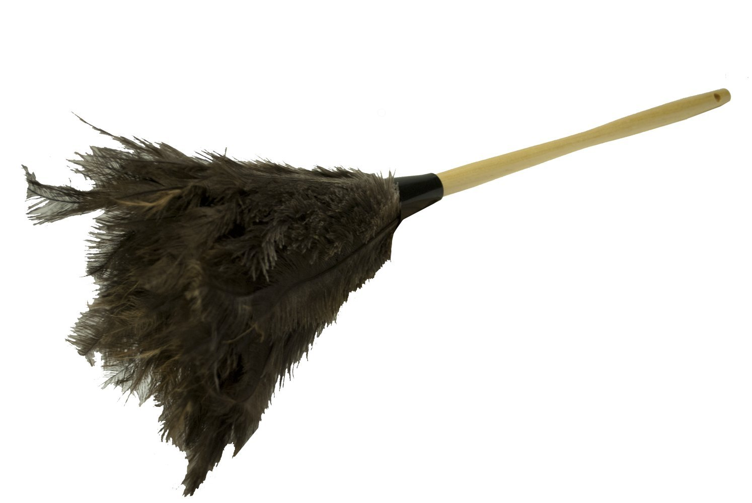Magnolia Brush 3553 Genuine Ostrich Feather Duster, 24'' Overall Length (Case of 12)