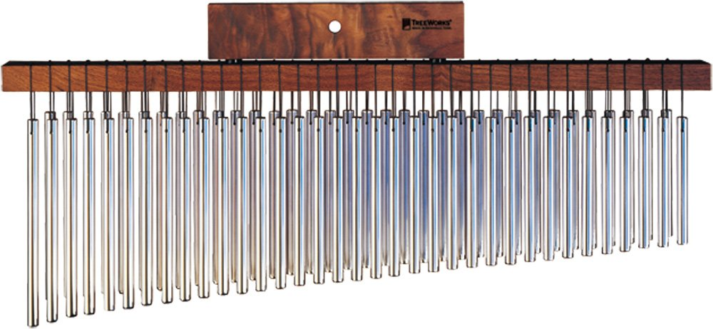 TreeWorks Chimes TRE35db Made in USA Large Double Row Bar Chime (VIDEO) by TreeWorks Chimes