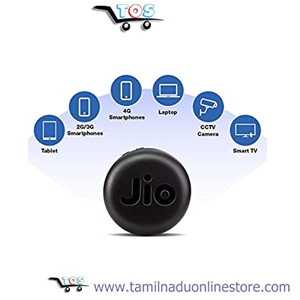Reliance Jio Myfi Portable 4G Wifi Hot-Spot