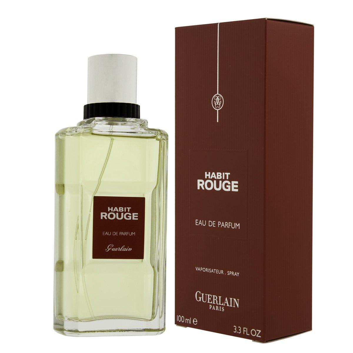 HABIT ROUGE by Guerlain (MEN) HABIT ROUGE-EAU DE PARFUM SPRAY 3.4 OZ
