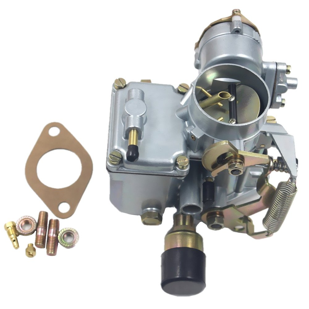 Ifjf Carburetor For Vw Beetles Super 1971 1979 Volkswagen Beetle And Karmann Ghia Engine Electrical System Troubleshooting Dual Port 1600cc With 12v Electric Choke 34 Pict 3 113129031k 98 1289 B