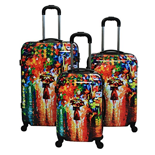 Dejuno 3-Piece Lightweight Hardside Spin - Hardside Upright Luggage Shopping Results