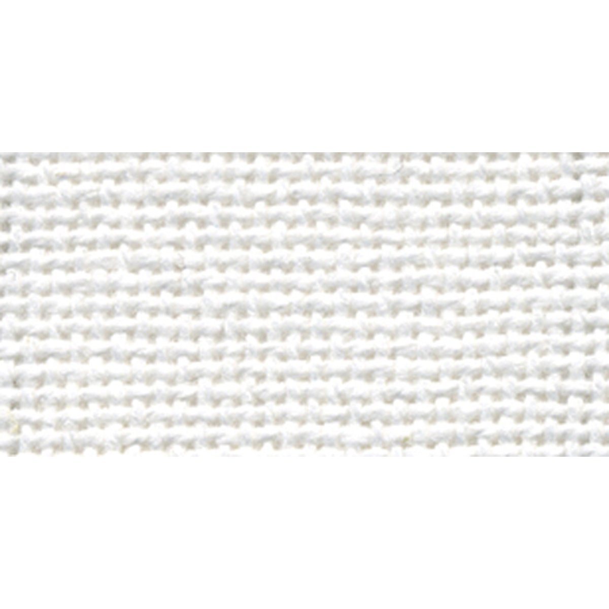 DMC MO0237-6750 Charles Craft 20 by 24-Inch Evenweave Monaco Aida Cloth, White, 28-Count Notions - In Network