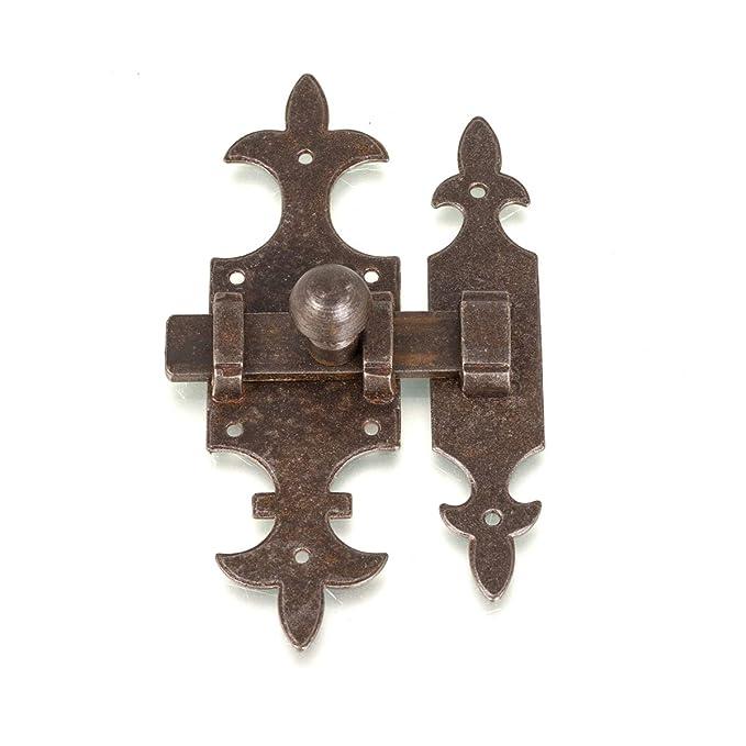 Verschluss für Gartentor oder Stall Schieberiegel Türbeschlag als Antik