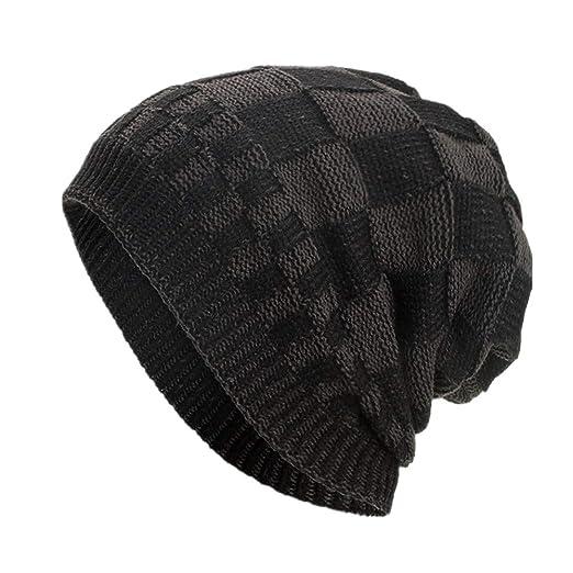 43d6357b Image Unavailable. Image not available for. Color: Winter Hat Sale, KIKOY  Lattice Cotton Hats Unisex ...