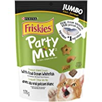 Purina Friskies Party Mix Cat Treats; Treasure Island Crunch - 170 g Pouch