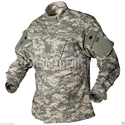 New US Army Military Acu Digital Combat Uniform Shirt Top Jacket Blouse (Large/Long)