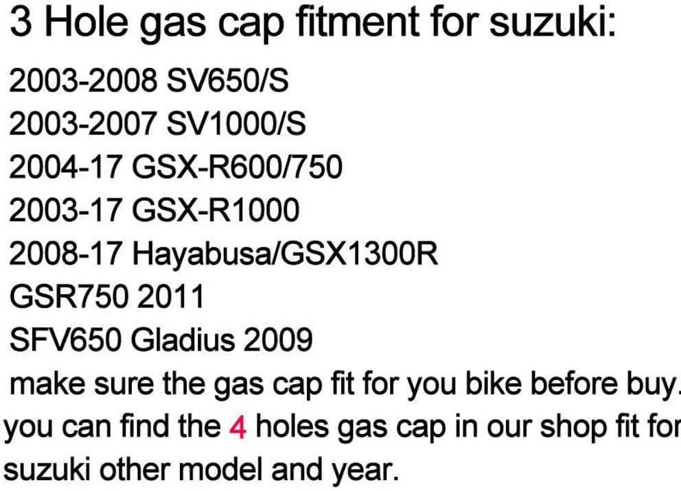CNC Aluminum Billet Keyless Twist off Gas Fuel Tank Cap Cover For Suzuki Hayabusa GSXR1300 2008-2018 2015 2016 2017