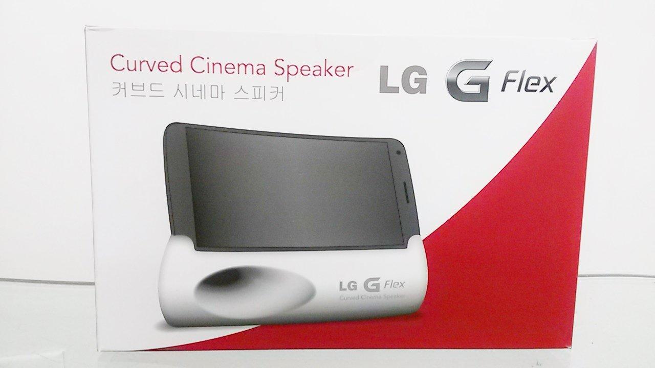 LG G Flex Curved Cinema Speaker (Pink) by LG