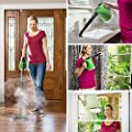 H2O SteamFX Pro - The handheld steamer that converts to a floor steam cleaner in seconds, no chemical, steam cleaning for home, auto, patio and more