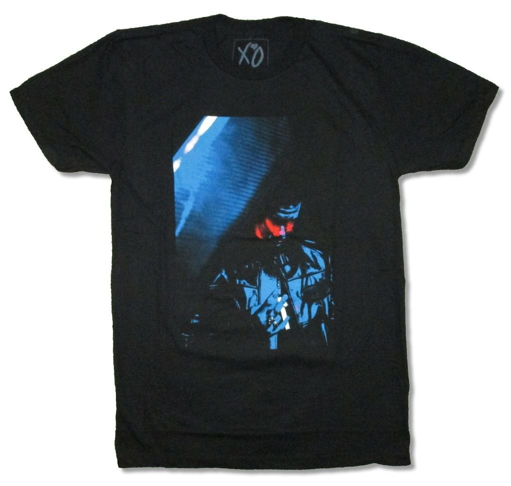 The Weeknd Stage Photo Black T Shirt XO Brand (XL)