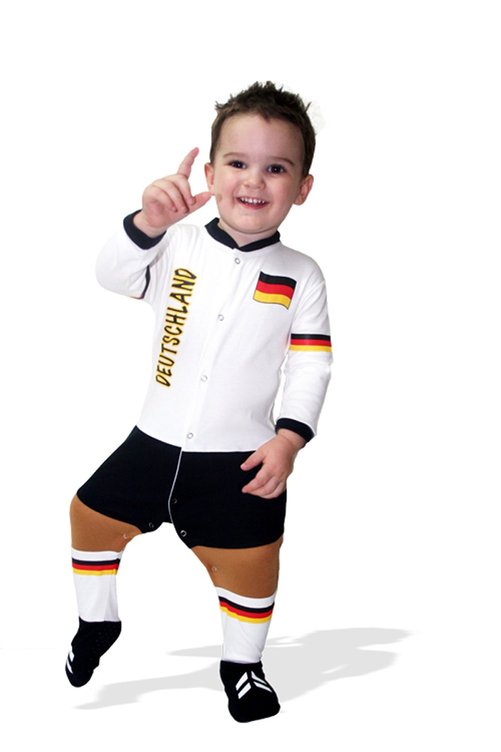 Germany Football Baby Suit Footysuit
