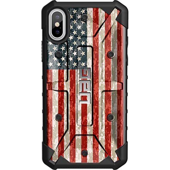 new product 44da7 66905 Limited Edition - Customized Designs by Ego Tactical Over a UAG- Urban  Armor Gear Case for Apple iPhone X/Xs (5.8