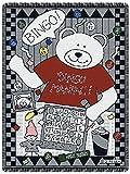 Bingo Bear 2.5 Layer Throw