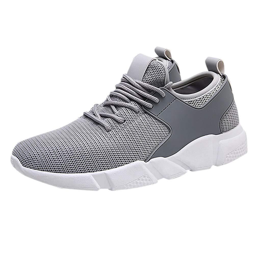 Mens Sneakers Running Shoes Casual Woven Sneakers Breathable Shoes Limsea