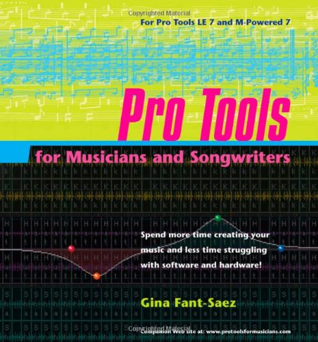Pro Tools for Musicians and Songwriters-cover