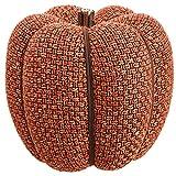 9''Hx7''W Artificial Pumpkin -Orange (pack of 4)