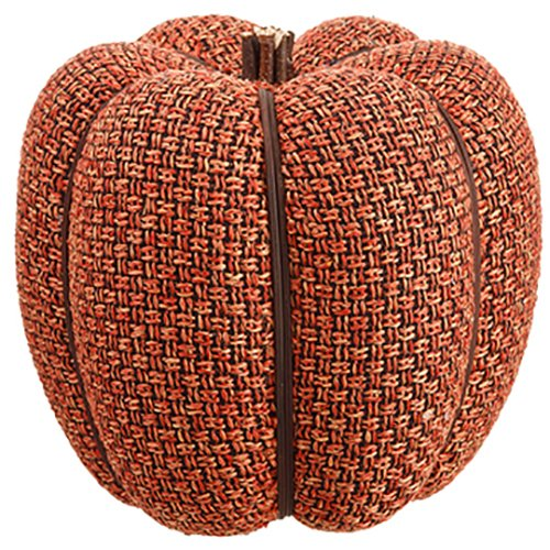 9''Hx7''W Artificial Pumpkin -Orange (pack of 4) by SilksAreForever