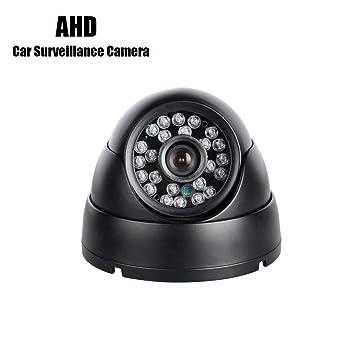 GISION AHD Vehículo Cámara Metal Interior IR Visión Nocturna Respaldo Rearview para Seguridad de la Vigilancia