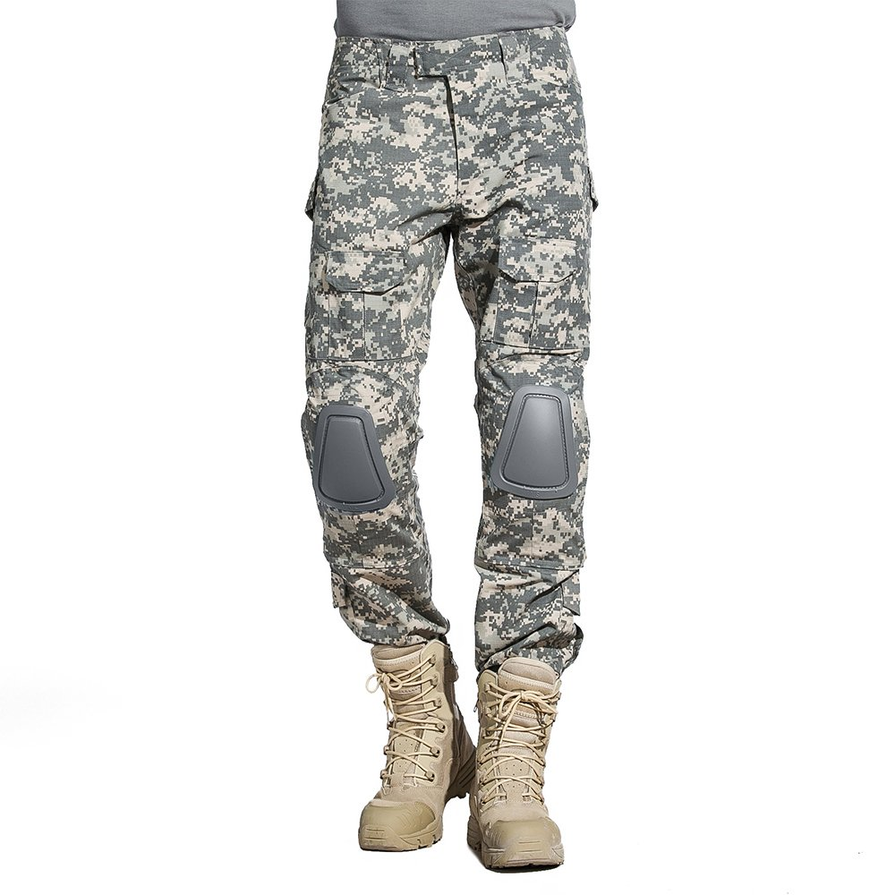 Sinairsoft Tactical Airsoft Pants Military Bdu Combat Trousers With Elbow Pads Assault by Sinairsoft
