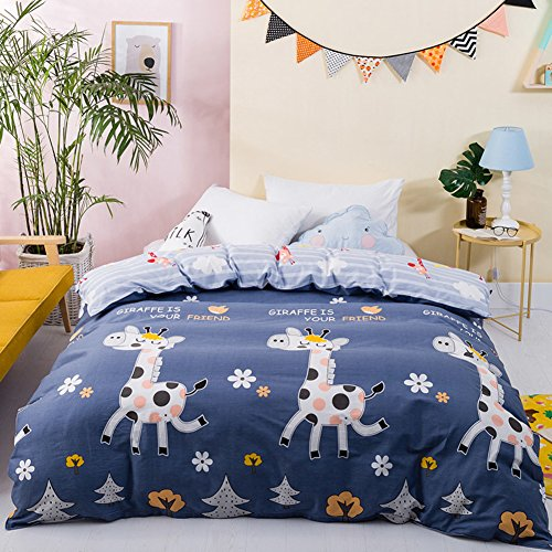 Cheap kele Single cotton quilt cover,Single Quilt cover Individual Double Studentdorm room 100% quilt cover-J 6382.6inch(160210cm) for cheap 9QJdjDOQ
