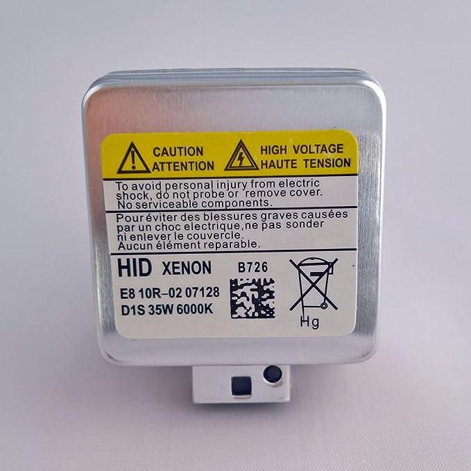 Artex-Handel 2x SUPER VISION Xenon Brenner f/ür die D1S Fassung mit 50/% mehr Licht 35W 3200LM 6000K E-Zulassung